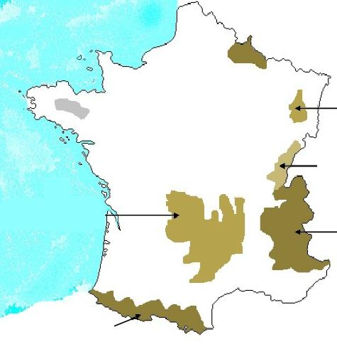 principaux massifs de france Archives - Voyages - Cartes